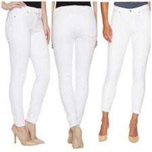 Hudson White Nico Cigarette Jeans NWT